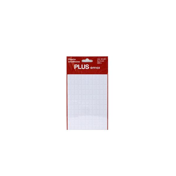 Etiquetas adhesivas Plus Office 8x12 Sobre 5h