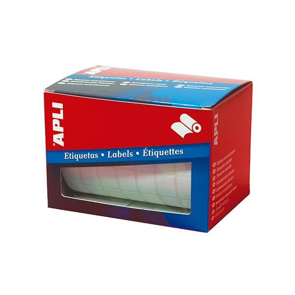 Etiquetas adhesivas en rollo Apli 12x18