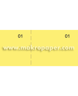 Talonarios Caja Makro Paper T-29 Amarillo (100h.)