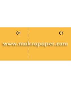Talonarios Caja Makro Paper T-29 Naranja (100h.)