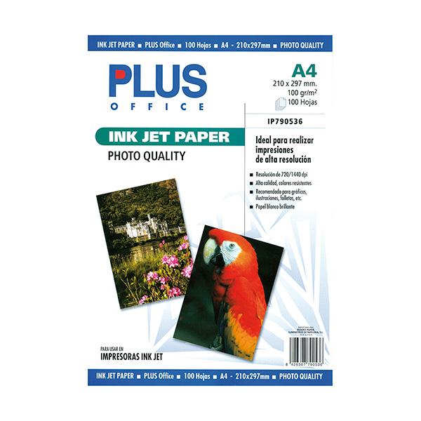 Papel fotográfico Plus A4 InkJet Quality 1440 dpi