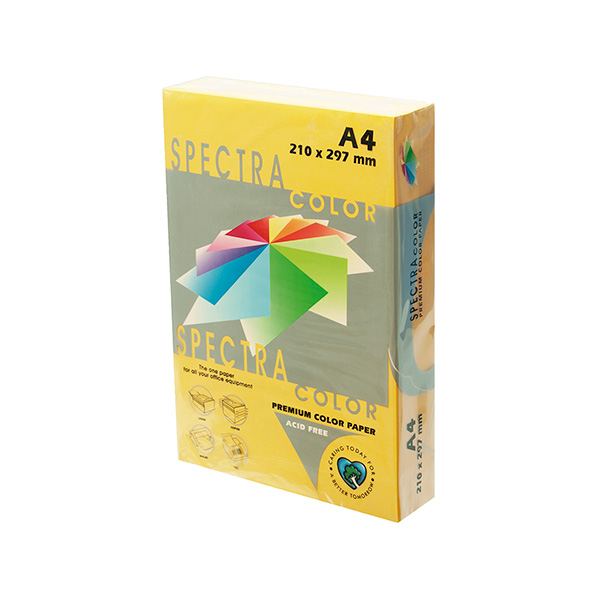 Papel color A4 80gr Oro (500h)
