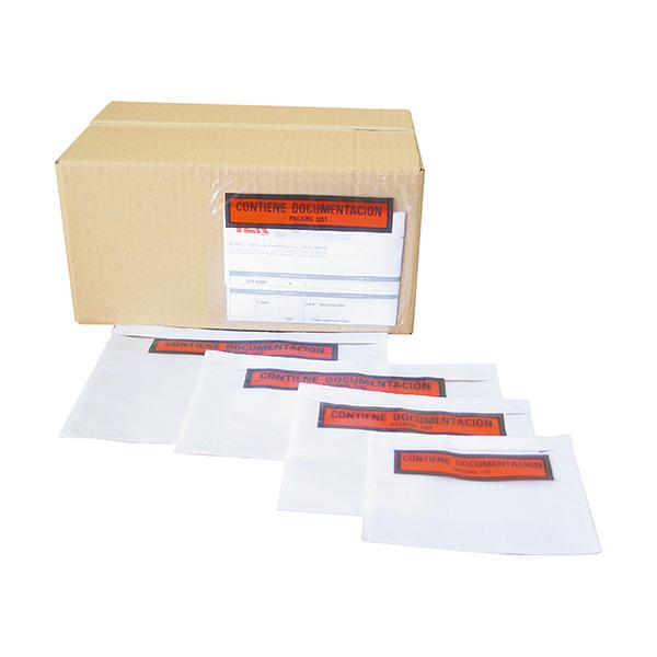 Sobres portadocumentos 162x120 (1000u/caja)