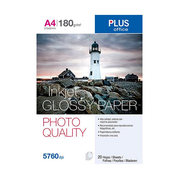 Papel fotográfico Plus A4 InkJet Quality 5760 dpi
