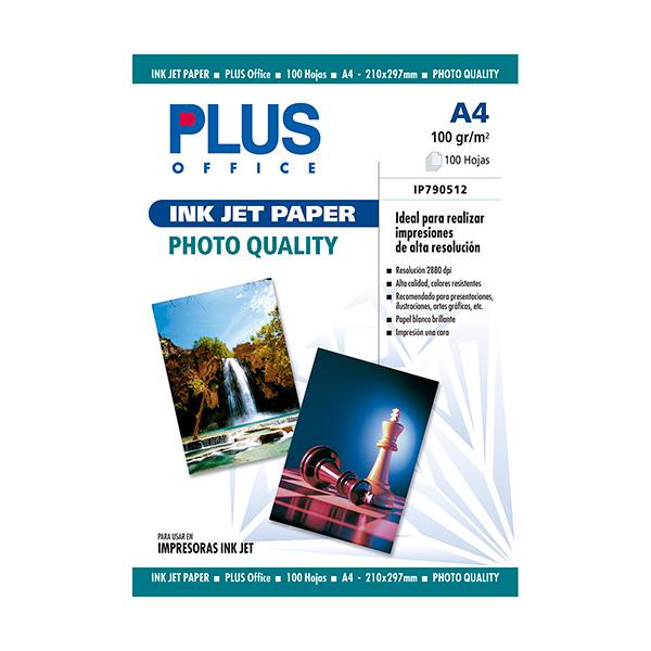 Papel fotográfico Plus A4 InkJet Quality 2880 dpi