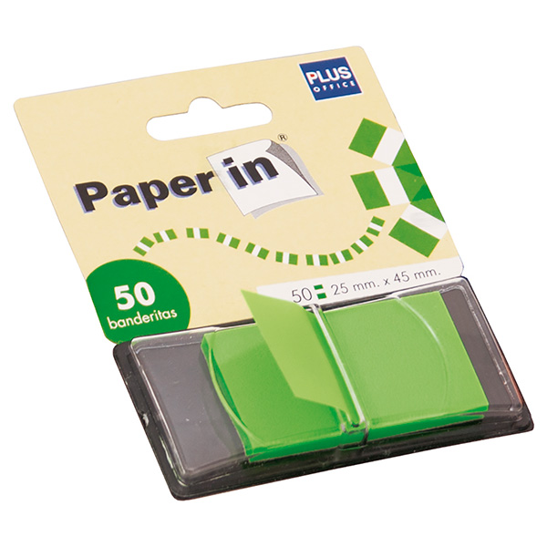 Dispensadores 50 banderitas Paper In Verde