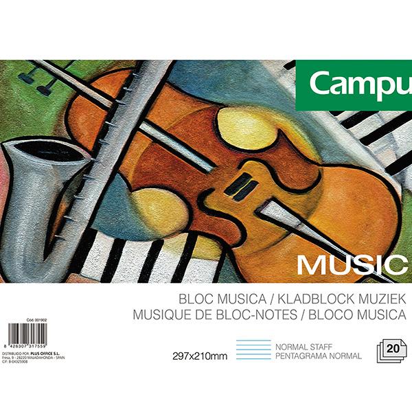 Bloc música Campus University A4 20h
