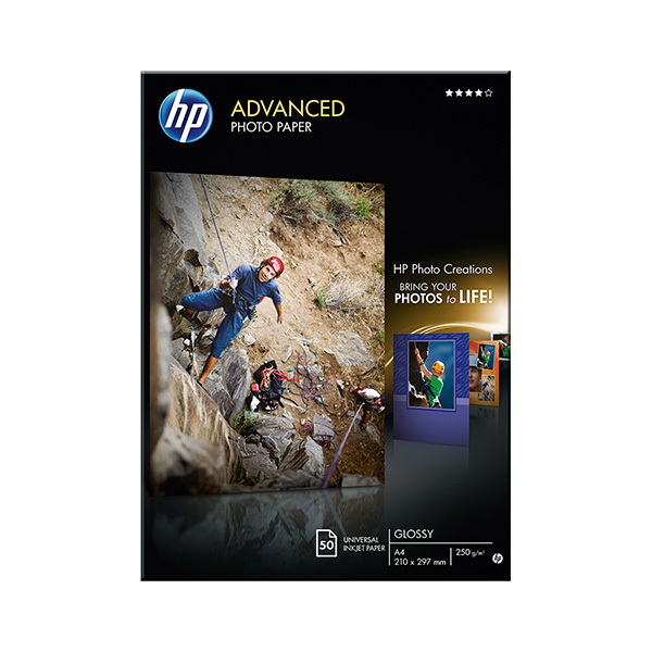 Papel fotográfico HP Advanced Inkjet 250g A4 50h