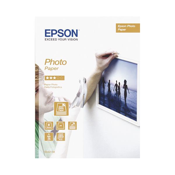 Papel fotográfico Epson Photo Inkjet A4 25h 190gr