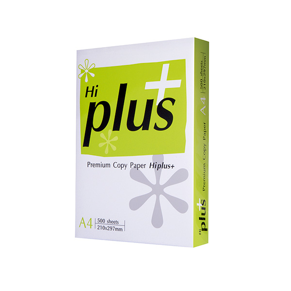 Papel Hi-PLUS A4 500h 75gr