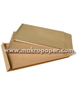 Bolsa kraft marrón con fuelle 30mm 280x365 50 unid/caja