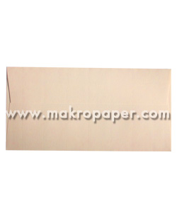 Paquete  de 10 sobres crema verjurado 110x220