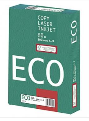 Papel Eco A3 paquete 500h blanco
