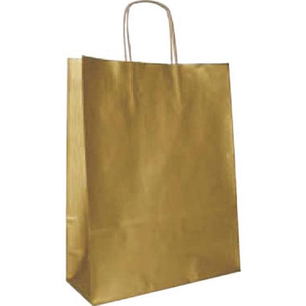 Bolsa de papel kraft Oro pequeña (paq 25u)