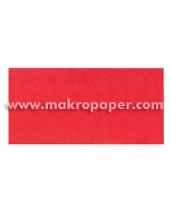 Sobre Makro 110x220 paq.25 Rojo intenso 80gr