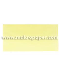 Sobre Makro 110x220 paq.25 Amarillo Pastel 80gr