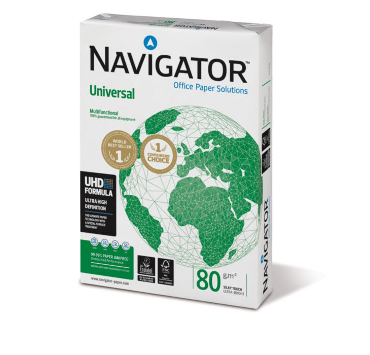 Paquete 500 hojas Navigator din a-3