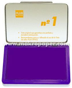 Tampón metálico para sellar nº1 100x170 Violeta