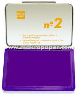 Tampón metálico para sellar nº1 80x120 Violeta