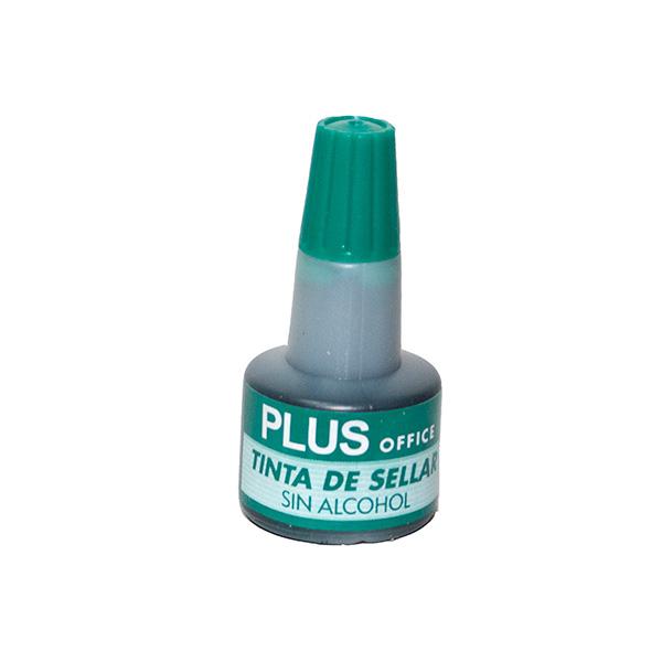 Tinta para Almohadillas Plus Office Verde