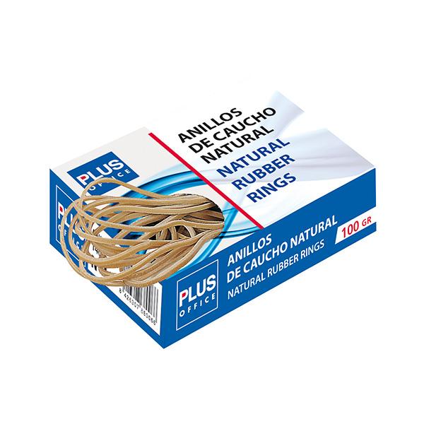 Gomas elásticas Plus Nº4 Caja de 100gr. 40mm.