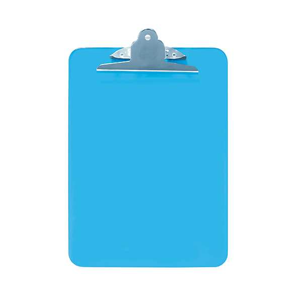 Placa Makro Paper ABS con pinza metálica