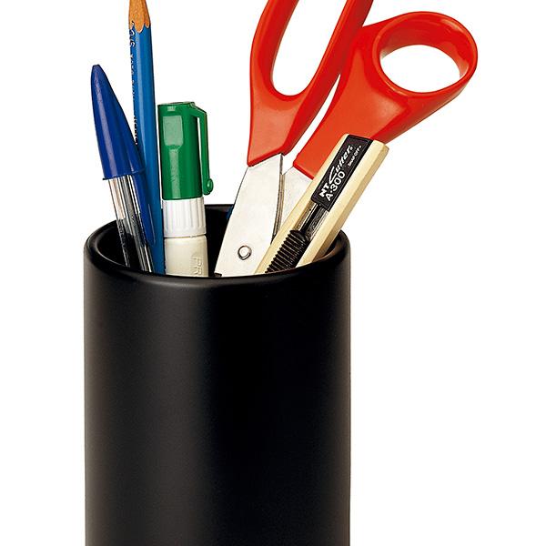 Portalápices plástico Plus Office 181 Negro