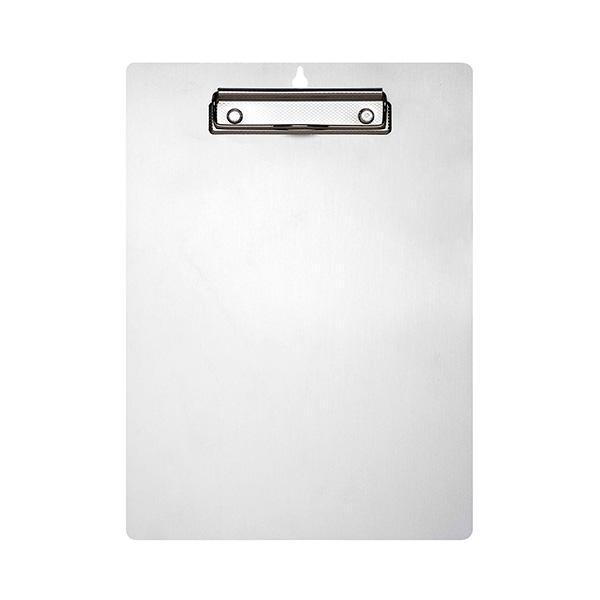 Placa Makro Paper aluminio con pinza metálica