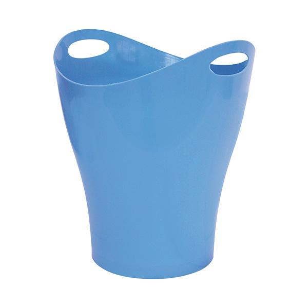 Papelera Makro Paper ovalada azul