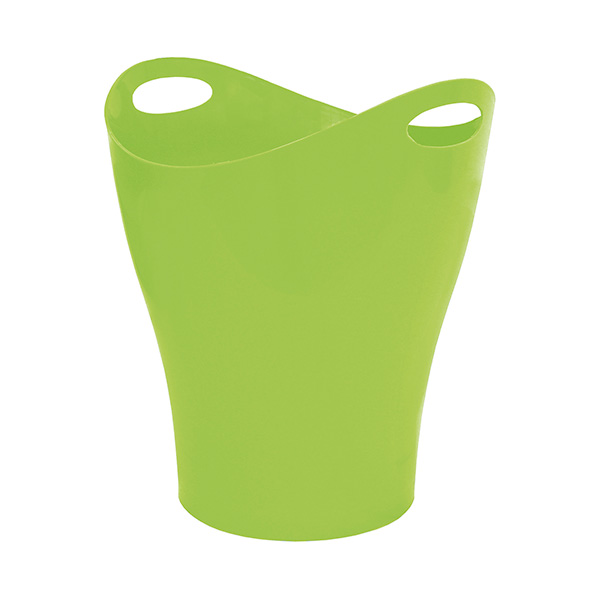 Papelera Makro Paper ovalada verde