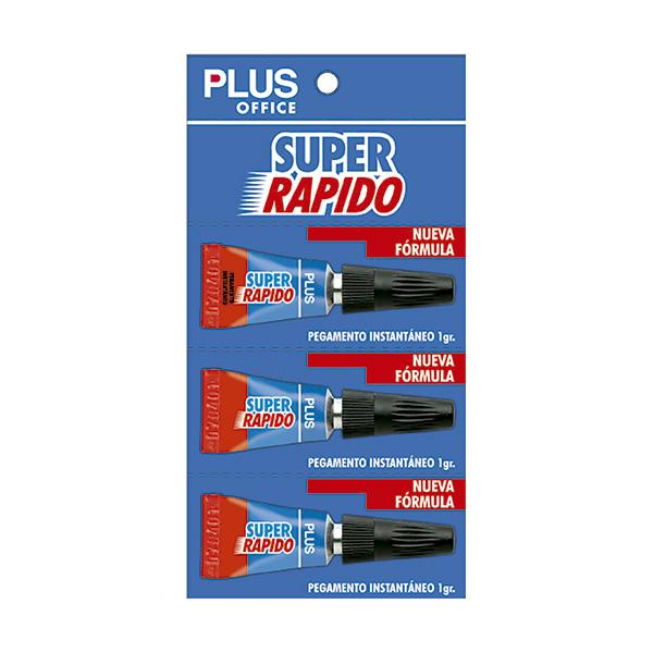 Pegamento Super Rápido x 3 Makro Paper 1gr.