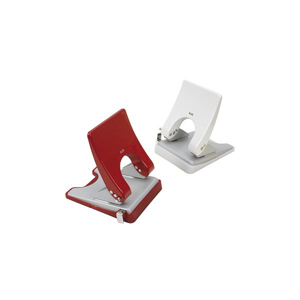 Perforador de sobremesa Plus PU-830A Rojo