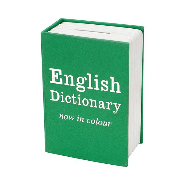 Hucha Libro diseño diccionario