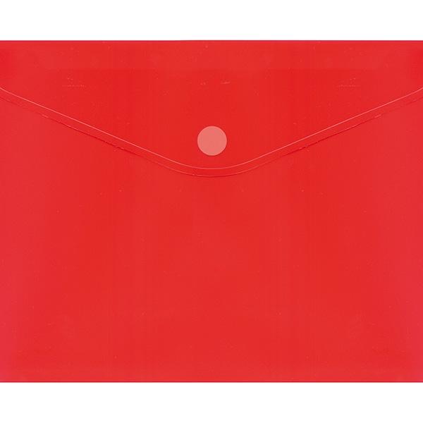 Dossier Plus Office con velcro A4 PLUS 2030 Rojo