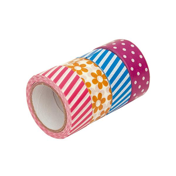 Cinta adhesiva Wahsi Tape diseños surtidos