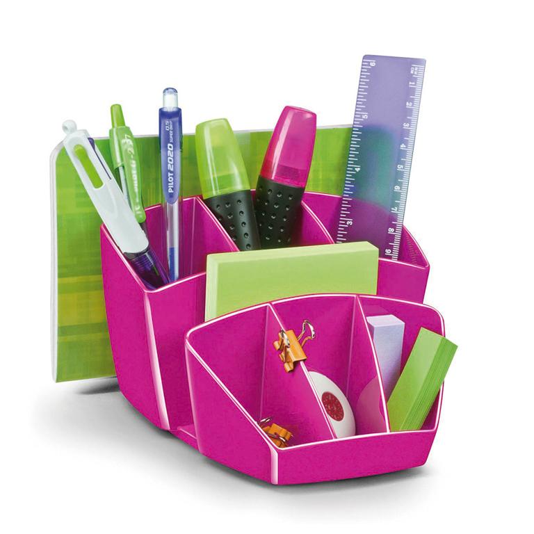 Organizador sobremesa Cep Gloss rosa