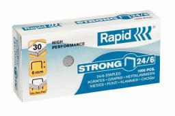 Caja grapas Rapid 24/6 Strong (1000u)