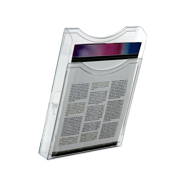 Expositor de pared A4 vertical 1 compartimento