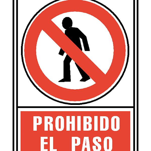 Pictograma Archivo 2000 Prohibido el paso