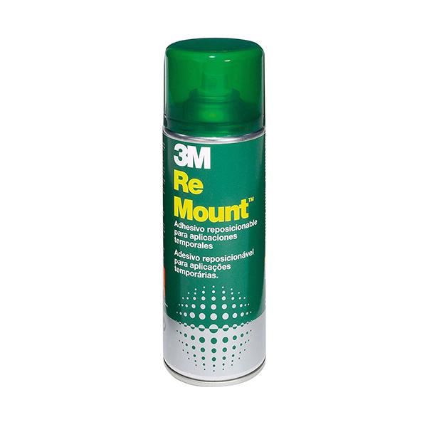 Pegamento en spray 3M Remount