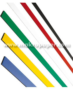 Bandas magnéticas Planning 18x500mm Rojo
