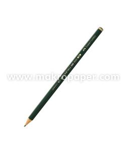 Lápiz de grafito Faber Castell 9000 3B