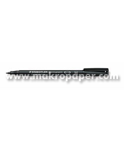 Rotulador permanente Staedtler 0,8mm Negro