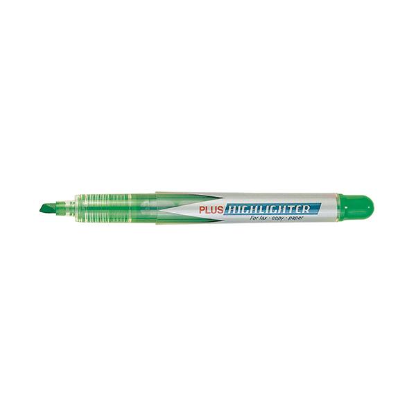 Rotulador Fluorescente Plus Highlighter Verde