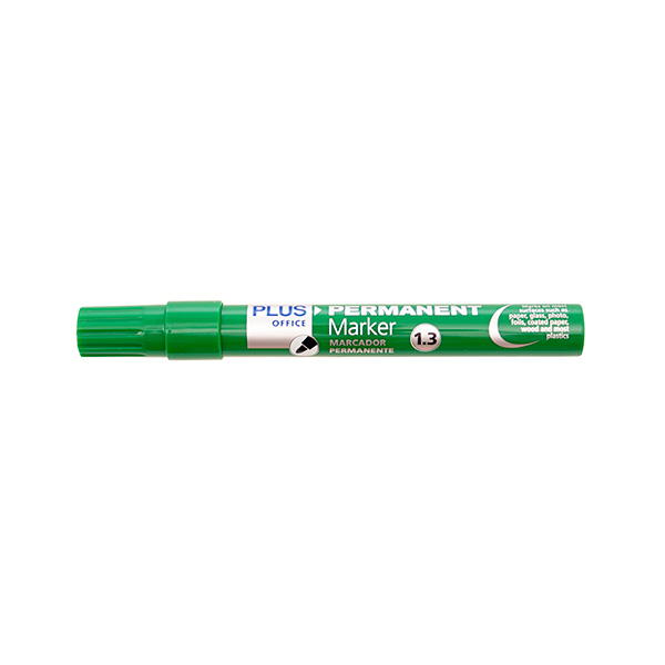 Rotulador Permanente Plus Marker 3 Verde