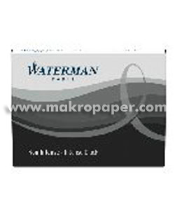 Cartuchos tinta Waterman negro
