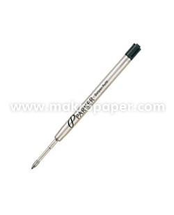 Recambio bolígrafo Parker punta media negro
