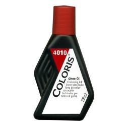 Tinta para Almohadillas Coloris 28ml Rojo