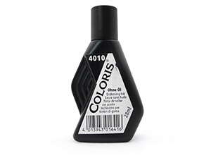 Tinta para Almohadillas Coloris 28ml Negro