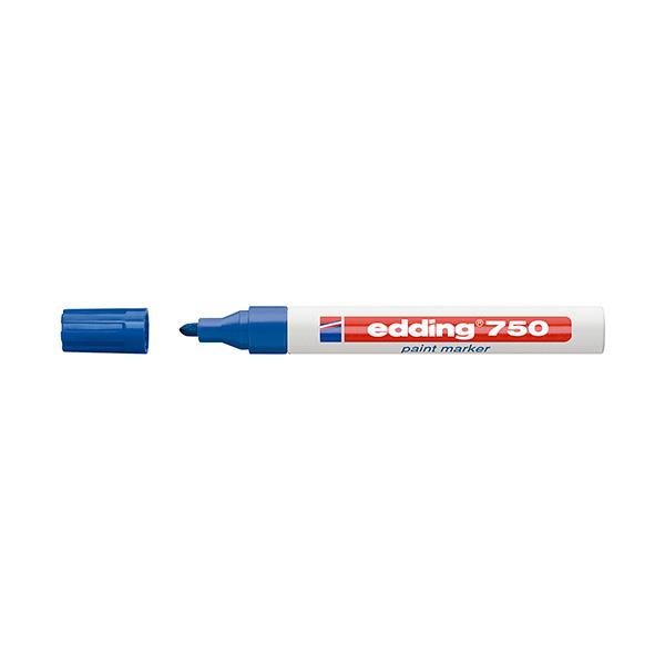 Rotulador permanente Edding 750 azul